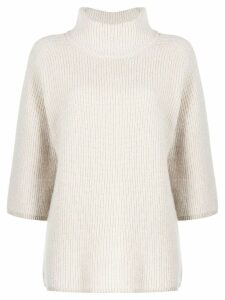 Peserico chunky jumper - Neutrals
