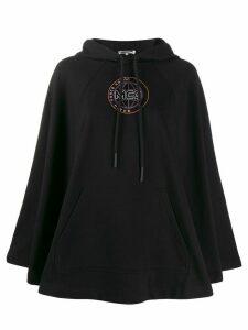 McQ Alexander McQueen logo embroidered hoodie - Black
