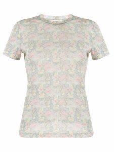 Nanushka Guy floral print T-shirt - Grey