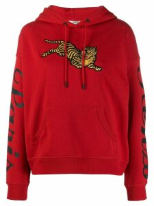 Kenzo Jumping Tiger hoodie - Red