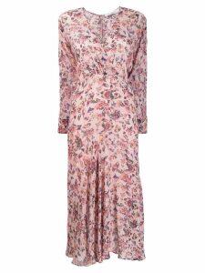 IRO Temper floral print dress - PINK
