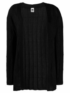 M Missoni open front cardigan - Black