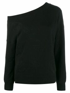 McQ Alexander McQueen swallow logo sweater - Black