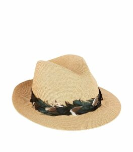 Sinatra Feather Trilby Hat