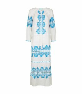 Lillie Embroidered Beach Dress