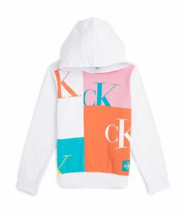 Monogram Colour-Block Hoodie