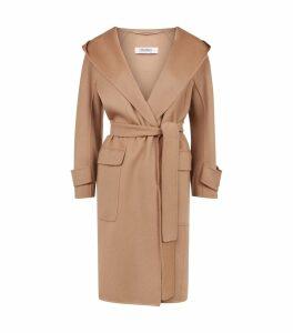 Wool Cocoon Coat