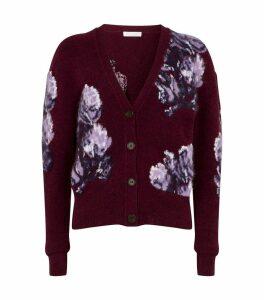 Textured Floral Cardigan