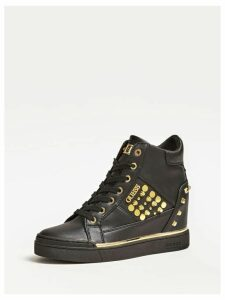 Guess Studded Feelixi Wedge Sneakers
