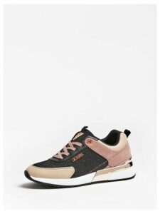 Guess Suede-Look Marlyn Running Shoes
