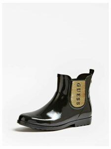 Guess Rekha Patent-Look Rain Boots