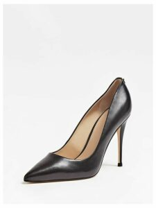 Guess Okley Real Leather Court Shoes