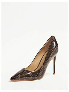 Guess Okley Logo-Print Court Shoes