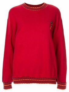 Yves Saint Laurent Pre-Owned Long Sleeve Tops - Red