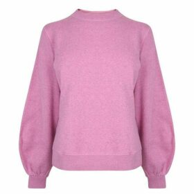 Ganni Isoli Balloon Sleeve Sweatshirt