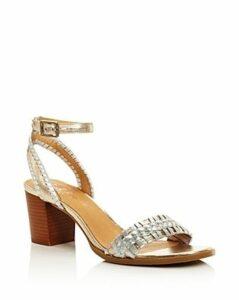 Jack Rodgers Women's Tinsley Block Heel Woven Sandals