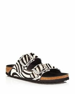 Birkenstock Women's Arizona Big Buckle Animal-Printed Slide Sandals - 100% Exclusive