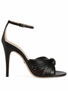 Gucci knotted sandals - Black