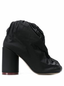 Mm6 Maison Margiela covered ankle boots - Black