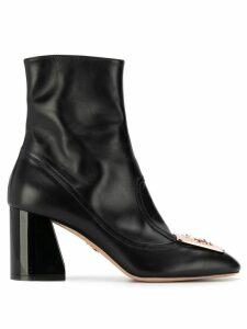 Paula Cademartori Cori Bimaterial Elegant - Black