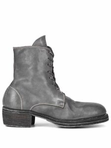 Guidi lace-up boots - Grey