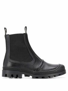 Loewe tiered Chelsea boots - Black