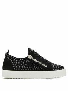Giuseppe Zanotti stud embellished sneakers - Black