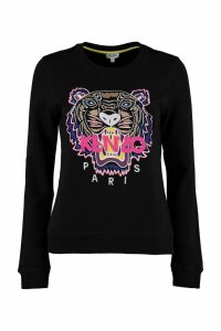 Kenzo Cotton Crew-neck Sweatshirt
