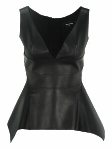 D Squared Leather Top