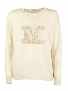 Max Mara Cannes Slim-fit Logo Jumper