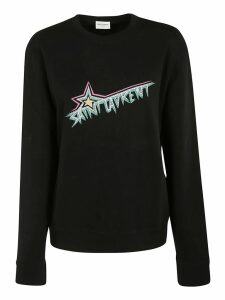 Saint Laurent Logo Sweatshirt