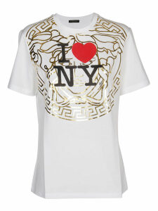 Versace White Printed T-shirt