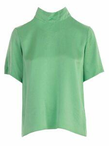 Forte Forte T-shirt Silk Cloquet