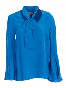 MICHAEL Michael Kors Shirt L/s W/knot On Neck