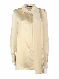Max Mara Marsala Silk Pianoforte Line Shirt