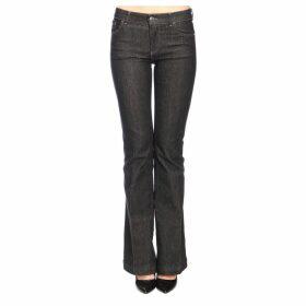 Emporio Armani Jeans Emporio Armani Flared Jeans In Stretch Denim