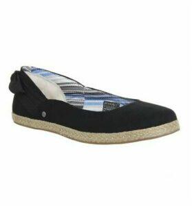 UGG Perrie Slip On BLACK CANVAS