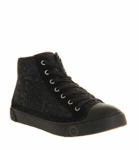 UGG Cayha Woven Sneaker BLACK DENIM