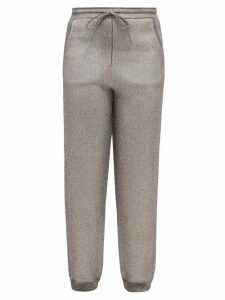 Thierry Colson - Tilda Geometric-print Cotton-blend Blouse - Womens - Blue