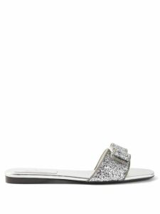 Lisa Marie Fernandez - Laurie Gathered Linen Gauze Midi Dress - Womens - Red
