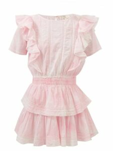 Missoni Mare - Zigzag-knitted Wide-leg Trousers - Womens - Blue