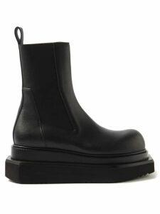 Giambattista Valli - Ruffled Silk-chiffon Midi Dress - Womens - Red