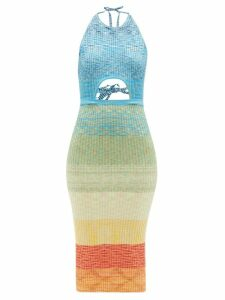 Extreme Cashmere - Cashmere Blend Cape - Womens - Grey