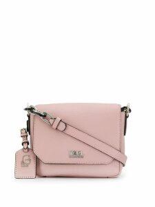 Karl Lagerfeld pebbled crossbody bag - Pink