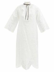 Bottega Veneta - Quilted-leather Down-filled Coat - Womens - Black