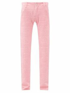 Joseph - Point Collar Silk Charmeuse Blouse - Womens - Black