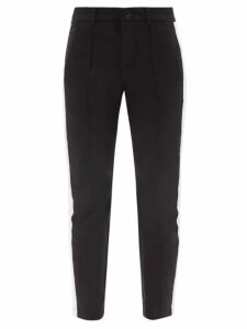 Batsheva - Peter Pan Collar Gingham Cotton Blouse - Womens - Red