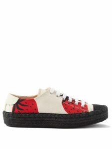 Fendi - Asymmetric Pleated Satin Dress - Womens - Blue