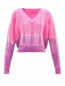 Altuzarra - Depeche Ruffled Crepe Wrap Top - Womens - Black
