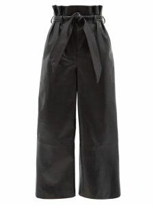 MSGM - Snake-print Jersey Midi Skirt - Womens - Pink